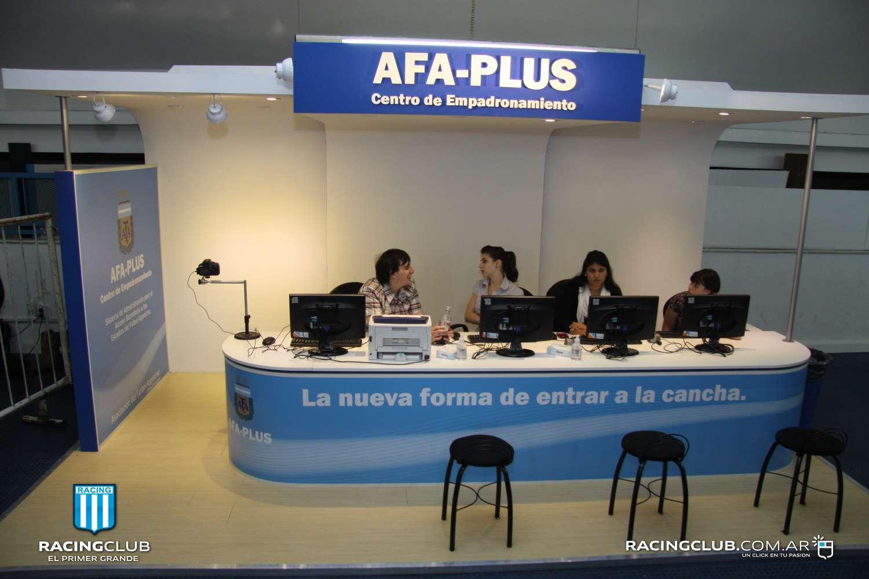 Se inauguró el sistema de empadronamiento AFA Plus
