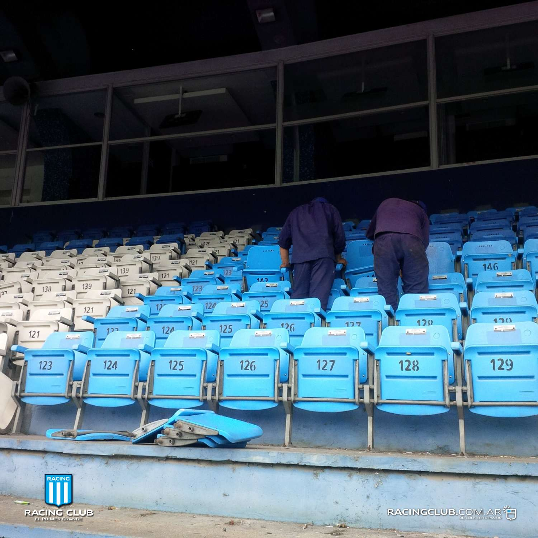 Racing club sitio no k 2017 for Puerta 20 estadio racing