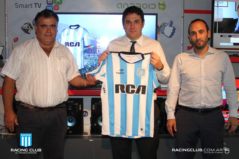 RCA, nuevo main sponsor de Racing Club