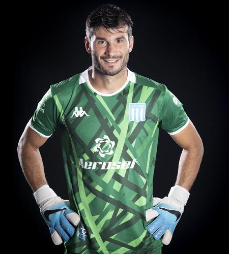 Javi García, joggin, Racing, Arquero, Clásico