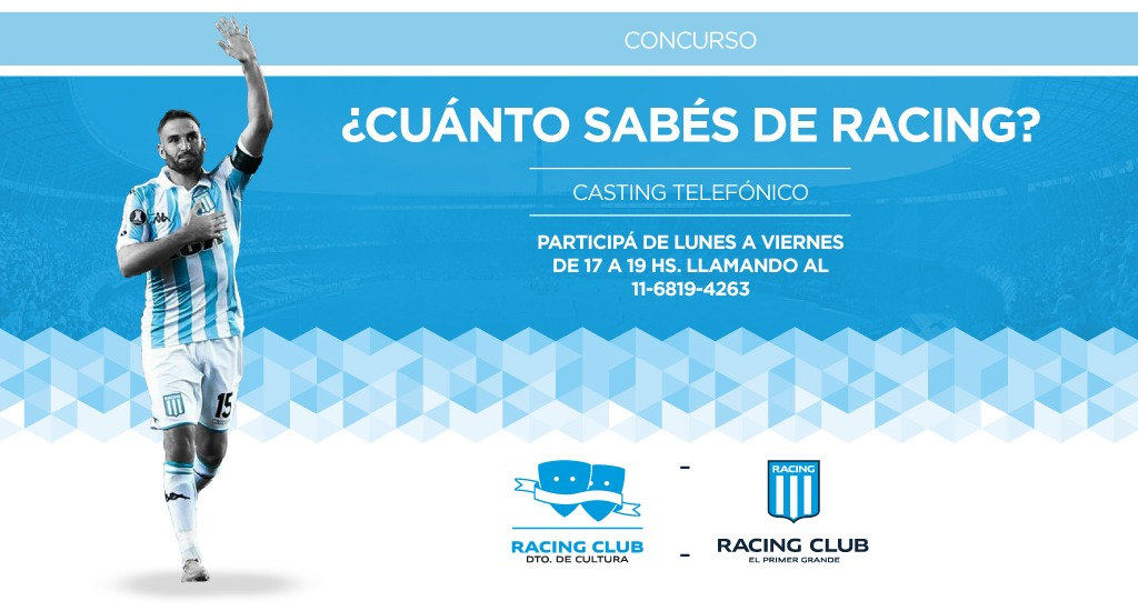 Respondele A Racing Racing Club Sitio Oficial